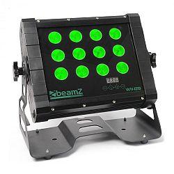 Beamz WH128 Wall Washer négyes LED, 12 x 8W, IP65, DMX