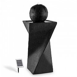 Blumfeldt DURAMAXX Schönbrunn napelemes gömb alakú szökőkút, 200l/h, LED, bazalt