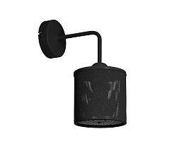 Decoland Fali lámpa NET 1xE27/60W/230V fekete