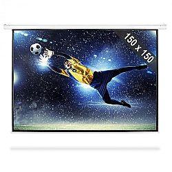 FrontStage PSBB-80, 203 cm feltekerhető vetítő vászon, 150 x 150 cm, 1:1