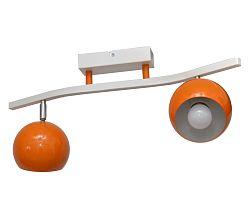 Helam Spotlámpa MORRIS 2xE27/60W/230V narancssárga