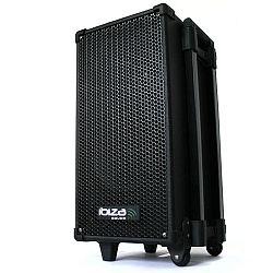 Ibiza mobilis aktív PA rendszer, CD, MP3 lejátszó, USB, akku