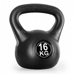 KLARFIT Kettlebell, gömbsúly, kettlebell súlyzó, 16 kg