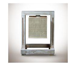 Light4home Asztali lámpa BERGAMO 1xE27/60W/230V világos