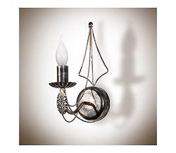 Light4home Fali lámpa VANESSA 1xE14/40W/230V sötét