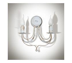 Light4home Fali lámpa VERSA 2xE14/40W/230V fehér 29 cm