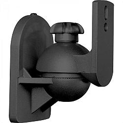 LUA Két fekete hangfal állvány, 3,5 kg-mos teherbírás