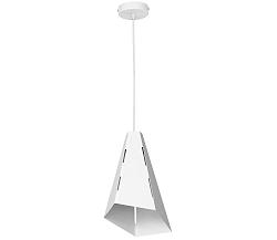 Luminex Csillár ALPIN 1 1xE27/60W fehér