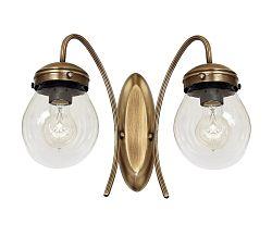 Luminex Fali lámpa ELELSTRA 2 2xE27/60W