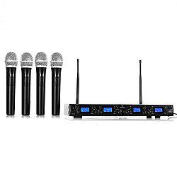 Malone UHF-550 Quartett1, vezeték nélküli mikrofon szett