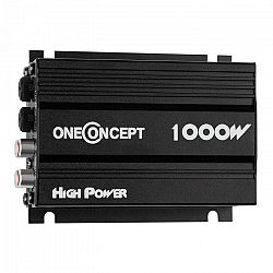 OneConcept 4-csatornás oneConcept X4-A4 erősítő,600 W, fekete