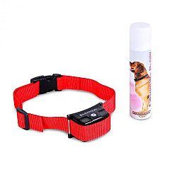 OneConcept Balu, nyakörv kiképzésre kutyáknak, piros,spray-vel