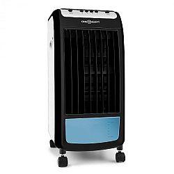 OneConcept Caribbean Blue levegőhűtő készülék, légfrissítő, ventilátor, 70 W, fehér/fekete