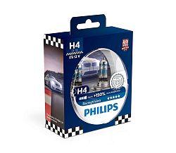 Philips Készlet 2 x autó izzó Philips RACINGVISION 12342RVS2 H4 P43t