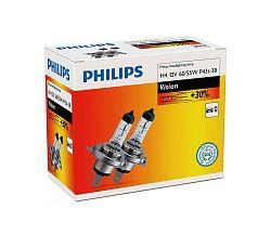 Philips Készlet 2 x autóizzó Philips VISION 12342PRC2 H4 P43t