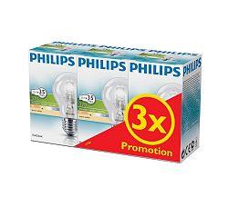 Philips KÉSZLET 3x Dimmelhető halogén izzó Philips E27/28W/230V