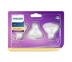 Philips KÉSZLET 3x LED Izzó GU5,3/MR16/8,2W/12V 2700K