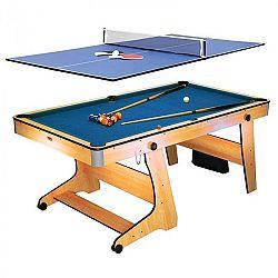 Riley FP-6TT, összecsukható biliárdasztal, ping-pong asztallappal