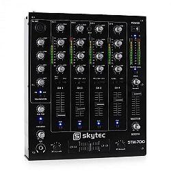 Skytec STM-7010, 4 csatornás DJ keverőpult, USB, MP3, EQ