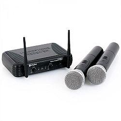 Skytec STWM712 vezeték nélküli mikrofon készlet, 2 csatorna