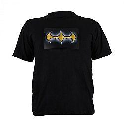 Summary LED rövid ujjú póló 2 színű Batman Design, méret: L