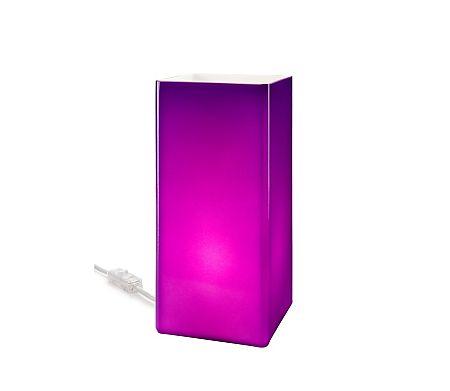 Lamkur Asztali lámpa 1xE14/40W/230V lila