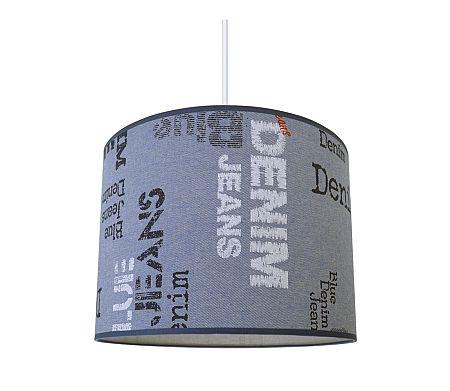 Lampdar Csillár zsinóron JEANS 1xE27/60W/230V
