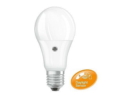 Osram LED Izzó szenzorral E27/8,5W/230V 2700K