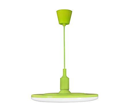 Polux LED Függeszték KIKI 1xE27/15W/230V zöld