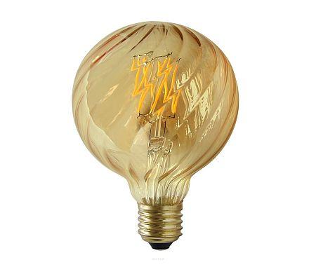 Polux LED izzó VINTAGE AMBER E27/4W/230V G100